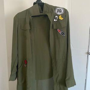 Green jacket never worn